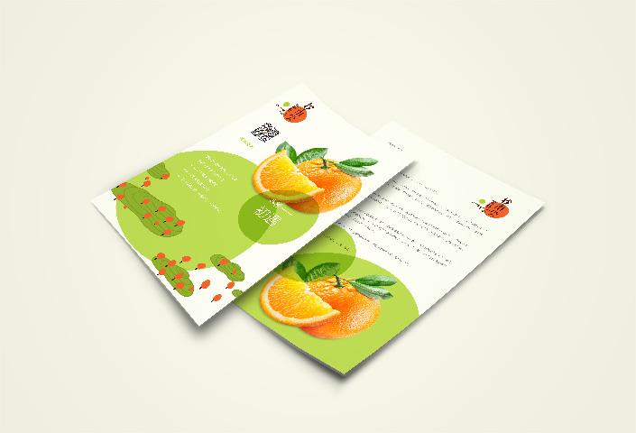 南宁兰草设计为橙市尖果业进行品牌策划 品牌形象设计 标志设计 宣传广告设计等服务 图示宣传单设计00001110